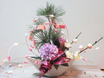 お正月飾りもち花アレンジ NYK-01の画像