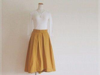 yellow* フィッシュテールラップスカートの画像