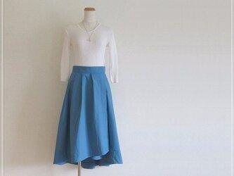 blue* フィッシュテールラップスカートの画像