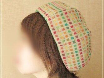 square×dot* ほっこりベレー帽子の画像