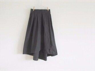 black* フィッシュテールラップスカートの画像