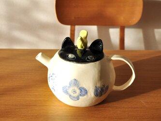 ネコのポットの画像