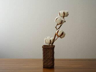 山葡萄花器 網代3.5mmの画像
