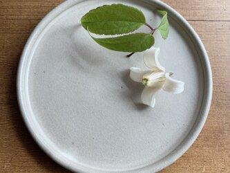 デザートプレート グレーの画像