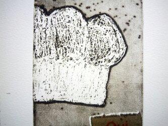 銅版画・食パンの画像