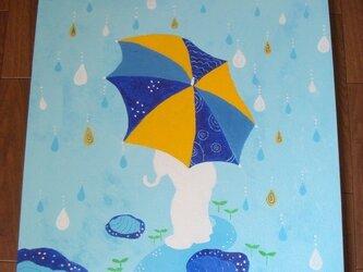 雨ふりの画像