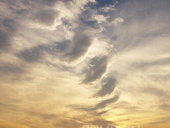 大桟橋の夕雲 PH-A4-0130   雲 鮮やか 夕焼け 夕暮れ 横浜の画像