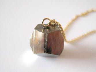 パイライトの原石ネックレス/黄鉄鉱  14kgfの画像