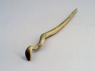 木製 蛇のかんざし(Mサイズ)PRS/パロサントの画像