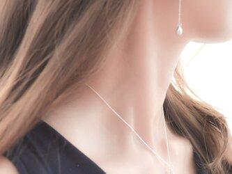 Silver925 Teardrop Necklaceの画像