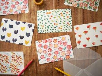 *選べる* 花のポストカード5枚セットの画像