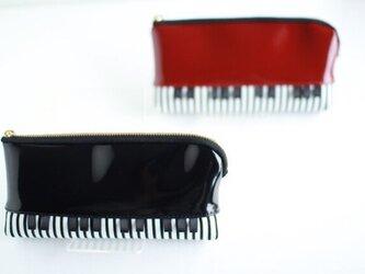 ピアノポーチ メガネケースの画像