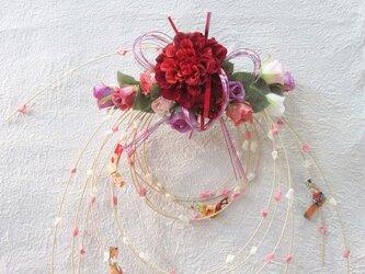 お正月飾り 新作 もち花リースNYD-02の画像