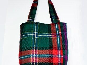 タータンチェックのお散歩バッグ【Macllennium】の画像