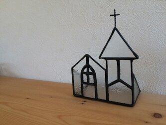 【オーダー品】教会キャンドルホルダーの画像