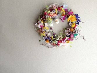 wreath-colorful5の画像