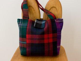 タータンチェックのバッグ【マルチチェック】の画像