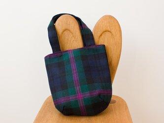 タータンチェックのお散歩バッグ【Modern Baird】の画像
