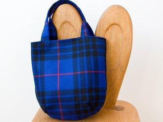 タータンチェックのお散歩バッグ【Morgan】の画像