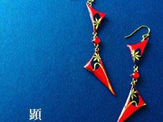 雅 -Miyabi-【和柄アートアクセサリー】の画像