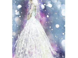 雪の妖精スネグーラチカ【A4サイズ】の画像