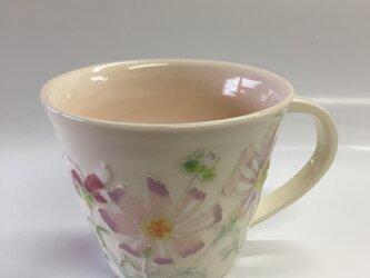 再販 クリスマスに セットで使える! 秋桜パステルカラーカップの画像