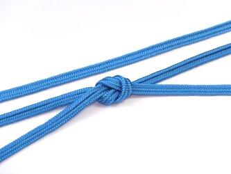 帯締めゆるぎ組(縹色)正絹の画像