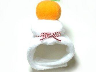 鏡餅のかぶりもの(帽子)【S/M/L】の画像