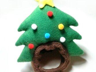 クリスマスツリーの帽子【S/M/L】の画像
