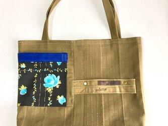 tote bag/ヴィンテージ キャンバスのトートバッグ    ■tf-307の画像