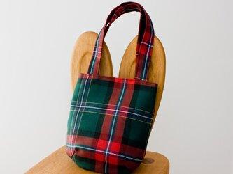 タータンチェックのお散歩バッグ【Macllennium】その2の画像