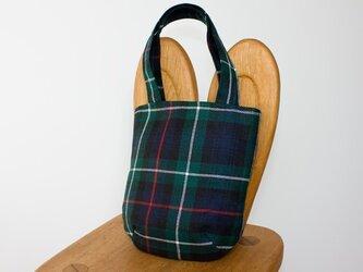 タータンチェックのお散歩バッグ【MACKANZIE】の画像