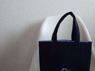 お弁当バッグ 自立バッグ お受験仕様の画像