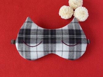 Caffe mocha Cat アイマスク/無料ポーチ付/旅行/ギフト/クリスマス/の画像