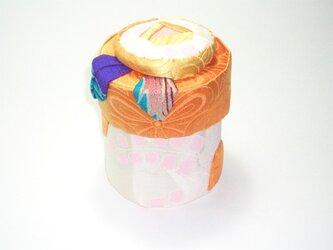 飾り箱 ー和バラ小物入れ(shiro)ーの画像