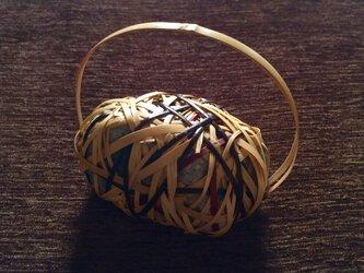ペーパーウェイト stone basket【1】の画像