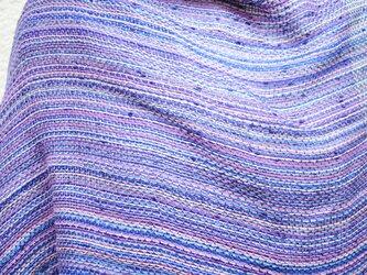 手織シルクストールの画像
