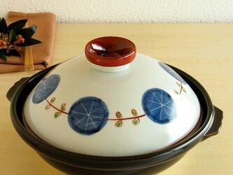 錦丸紋輪繋ぎ 9寸鍋の画像