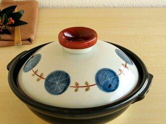 錦丸紋輪繋ぎ 8寸鍋の画像