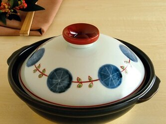 錦丸紋輪繋ぎ 7寸鍋の画像
