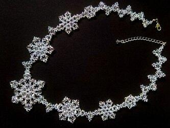 氷の結晶のネックレス・03の画像