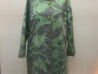 つむぎのコート【着物リメイク】【紡ぎ】の画像