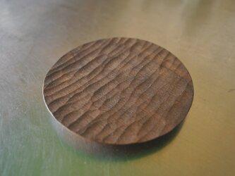 ブラックウォルナットの丸いうつわ小の画像