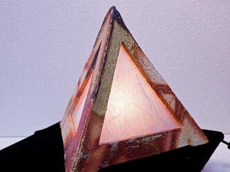 緋だすき窯変 三角灯 H三角-01Iの画像