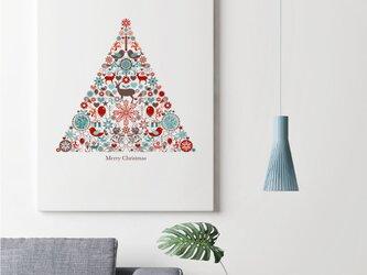 クリスマスツリーグラフィックの画像