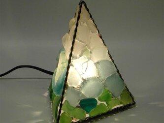 シーグラスランプ ピラミッドランプ S三面 No.10の画像