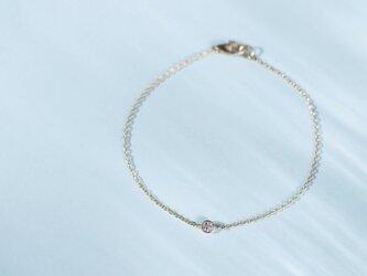 Pleine Lune -Bracelet-◇K18YG×Diamond 0.06ctの画像