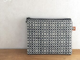 S様専用 pouch[手織り小さめポーチ]ブラックの画像