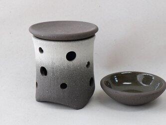 黒陶茶香炉またはアロマポット3の画像