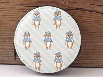 てるてる柴犬コインケースの画像